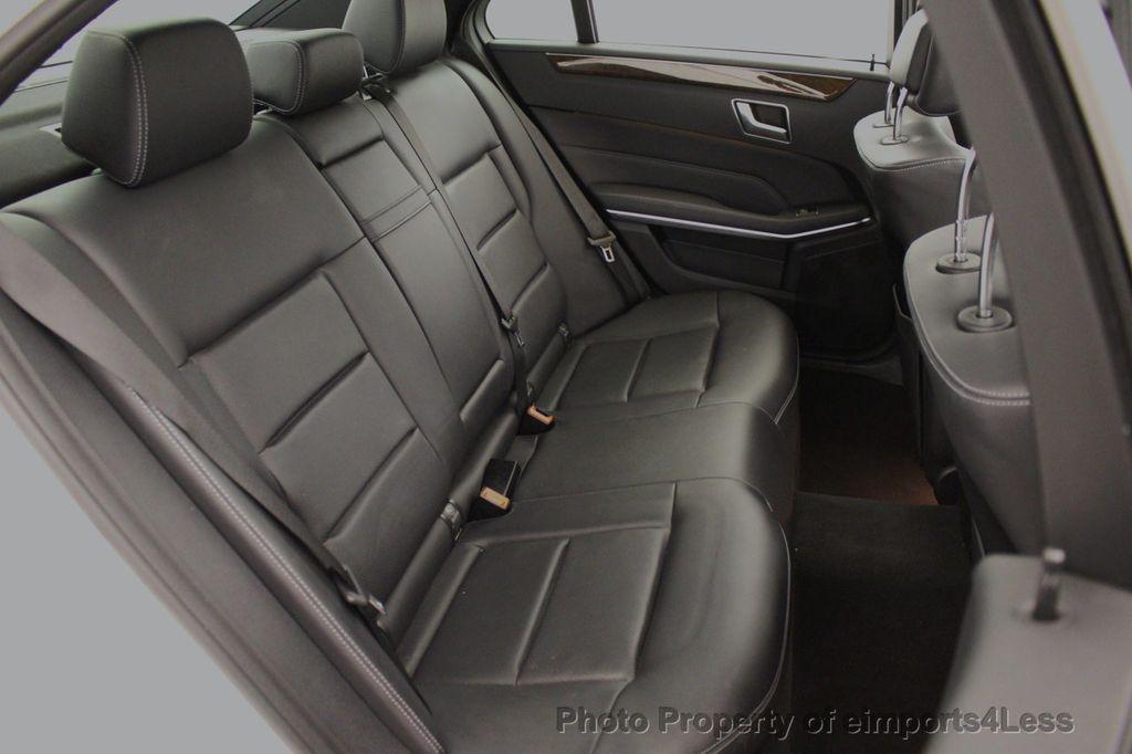 2016 Mercedes-Benz E-Class CERTIFIED E350 4MATIC Luxury Model AWD HK NAV CAM BLIS - 18319506 - 37