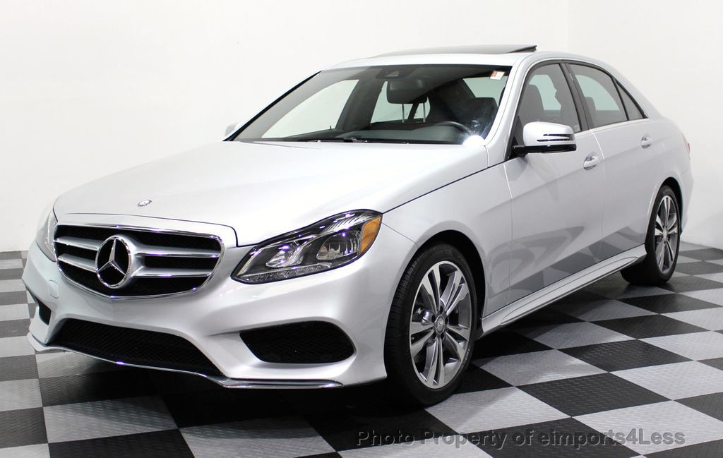 2016 Mercedes-Benz E-Class CERTIFIED E350 4Matic Sport AWD Blind Spot NAVIGATION - 16734643 - 0