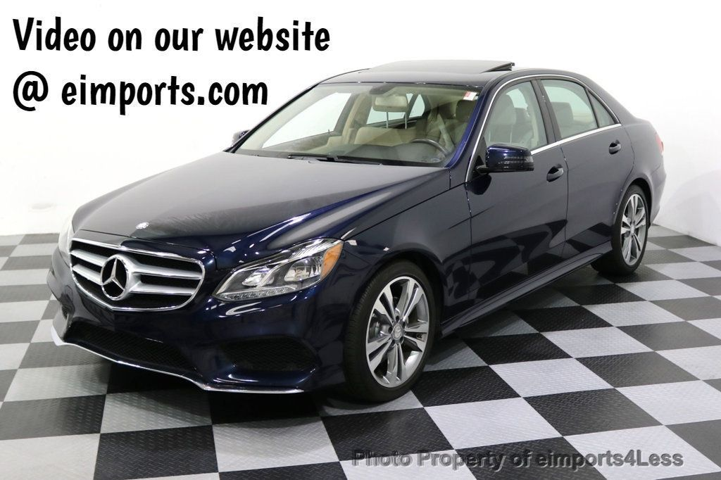 2016 Mercedes-Benz E-Class CERTIFIED E350 4Matic Sport AWD CAMERA NAVI - 17869999 - 0