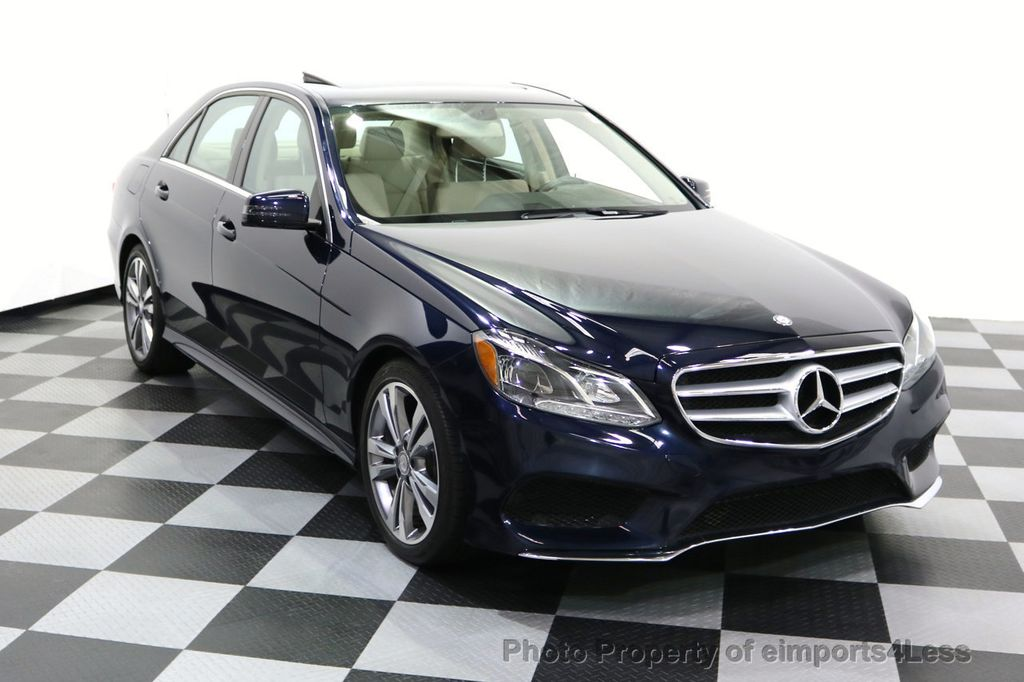 2016 Mercedes-Benz E-Class CERTIFIED E350 4Matic Sport AWD CAMERA NAVI - 17869999 - 1