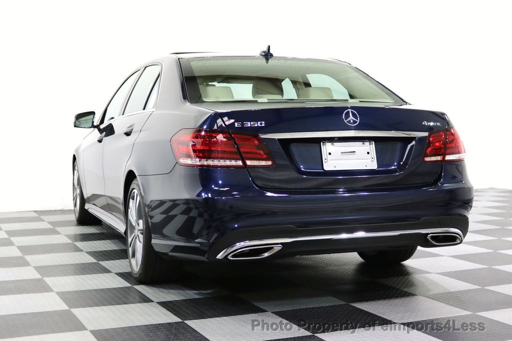 2016 Mercedes-Benz E-Class CERTIFIED E350 4Matic Sport AWD CAMERA NAVI - 17869999 - 30
