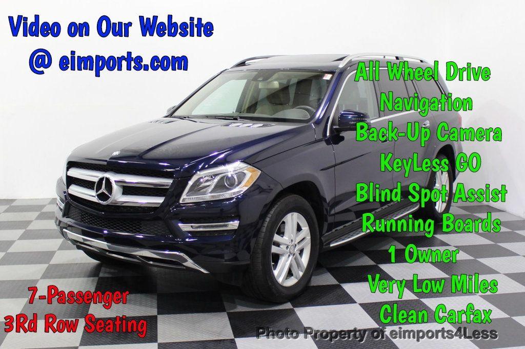 2016 Mercedes-Benz GL CERTIFIED GL450 4MATIC AWD 7 PASSENGER NAV BLIS CAM HK AUDIO - 18302573 - 0