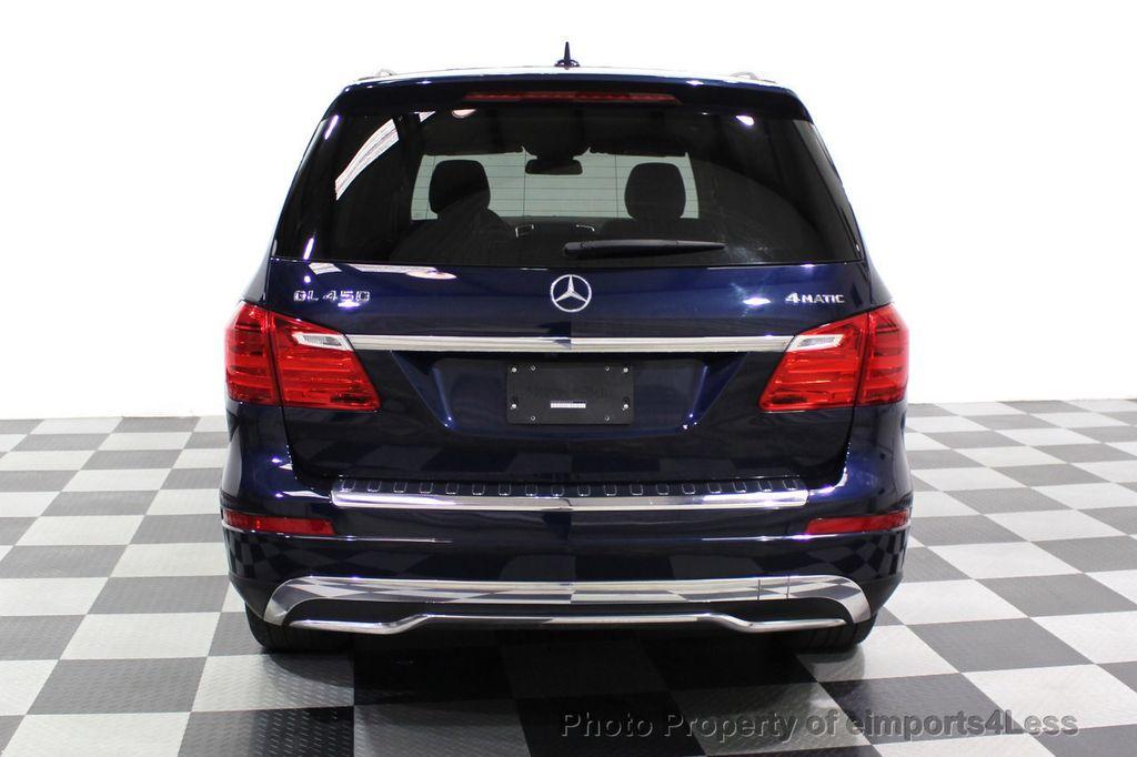 2016 Mercedes-Benz GL CERTIFIED GL450 4MATIC AWD 7 PASSENGER NAV BLIS CAM HK AUDIO - 18302573 - 17