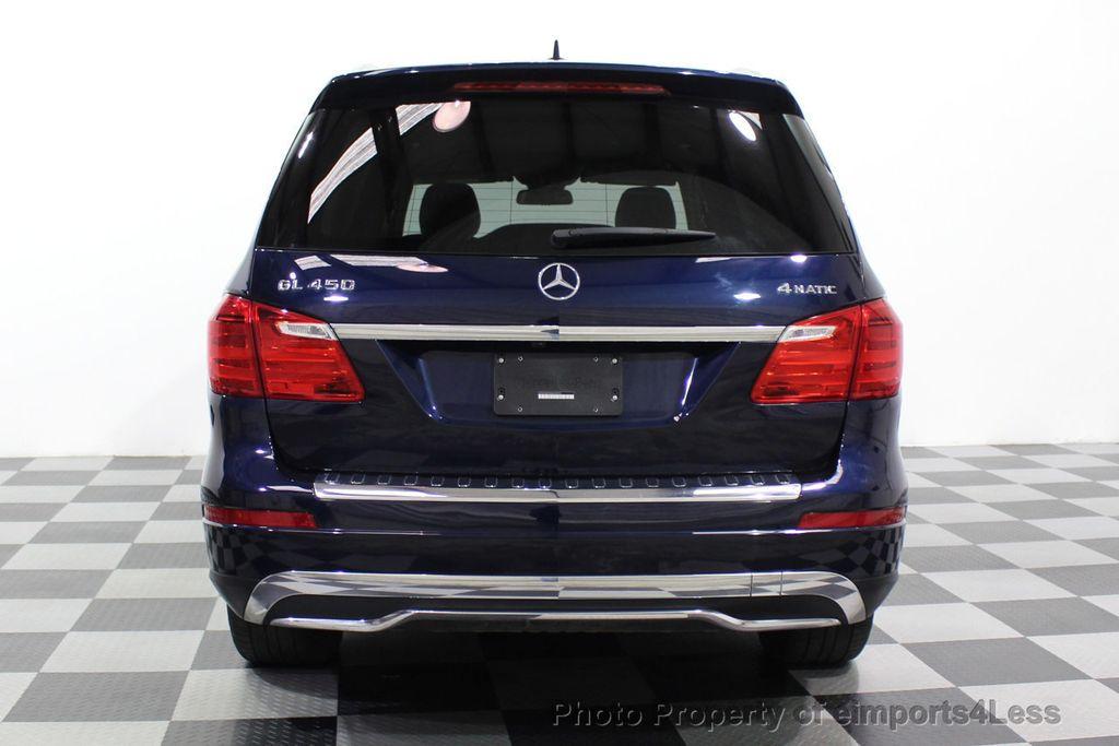 2016 Mercedes-Benz GL CERTIFIED GL450 4MATIC AWD 7 PASSENGER NAV BLIS CAM HK AUDIO - 18302573 - 33