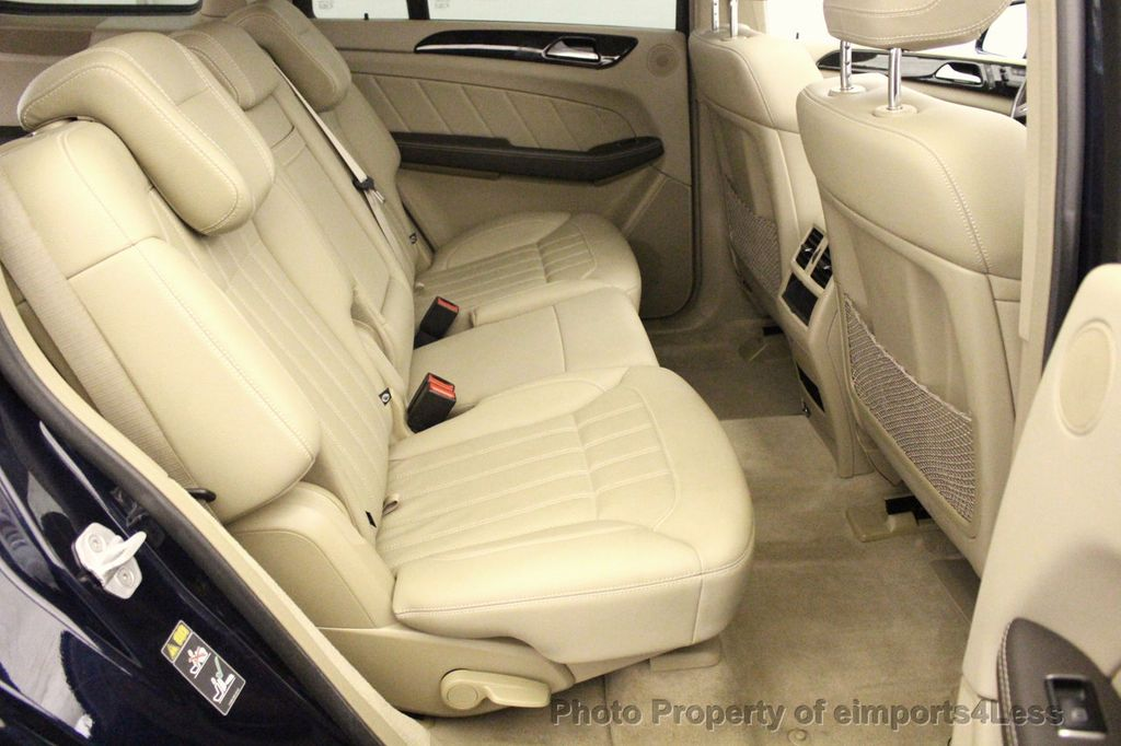 2016 Mercedes-Benz GL CERTIFIED GL450 4MATIC AWD 7 PASSENGER NAV BLIS CAM HK AUDIO - 18302573 - 39