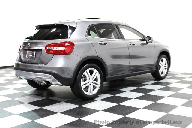 2016 Mercedes-Benz GLA CERTIFIED GLA250 4MATIC AWD CAMERA NAVIGATION - 16317874 - 24