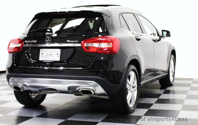 2016 used mercedes benz gla certified gla250 4matic awd for Approved mercedes benz used cars
