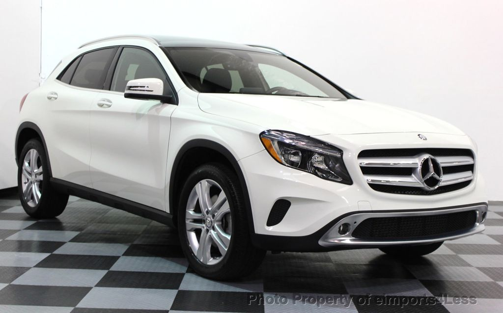2016 used mercedes benz gla certified gla250 4matic awd for Mercedes benz suv used for sale