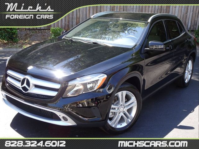2016 Used Mercedes-Benz GLA - NAVIGATION - ONE OWNER - BACKUP CAM -  BLUETOOTH - at Michs Foreign Cars Serving Hickory, NC, IID 18953532