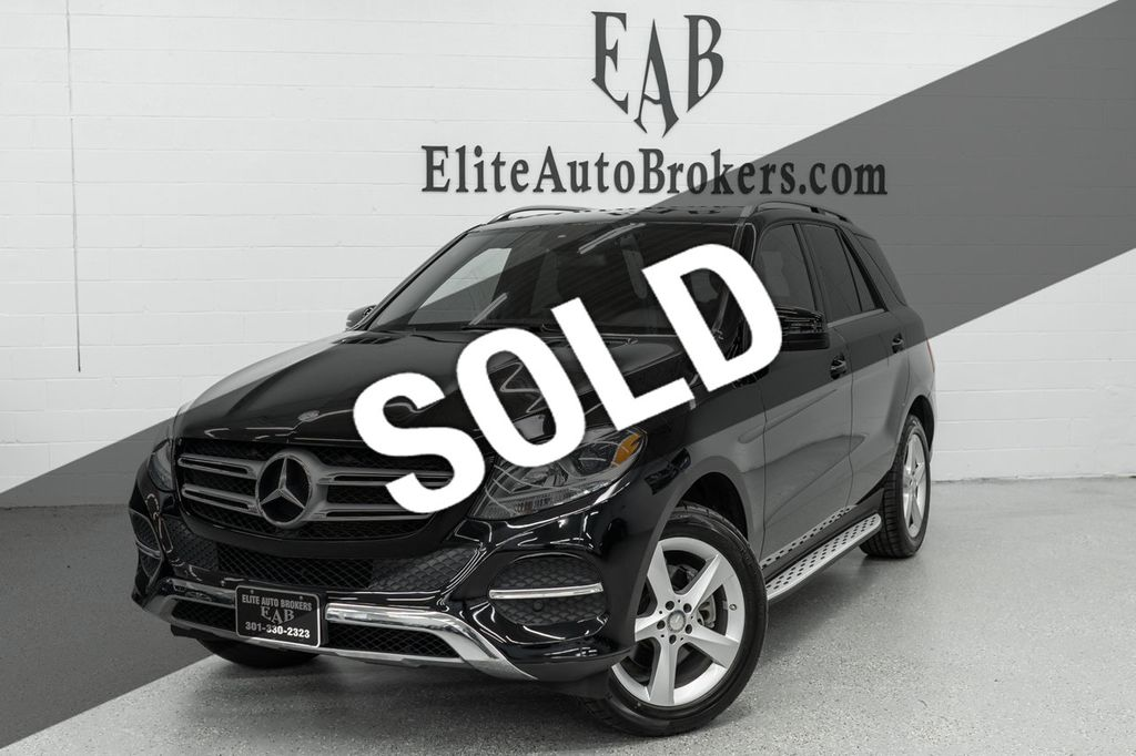 2016 Mercedes-Benz GLE 4MATIC 4dr GLE 350 - 18416345 - 0