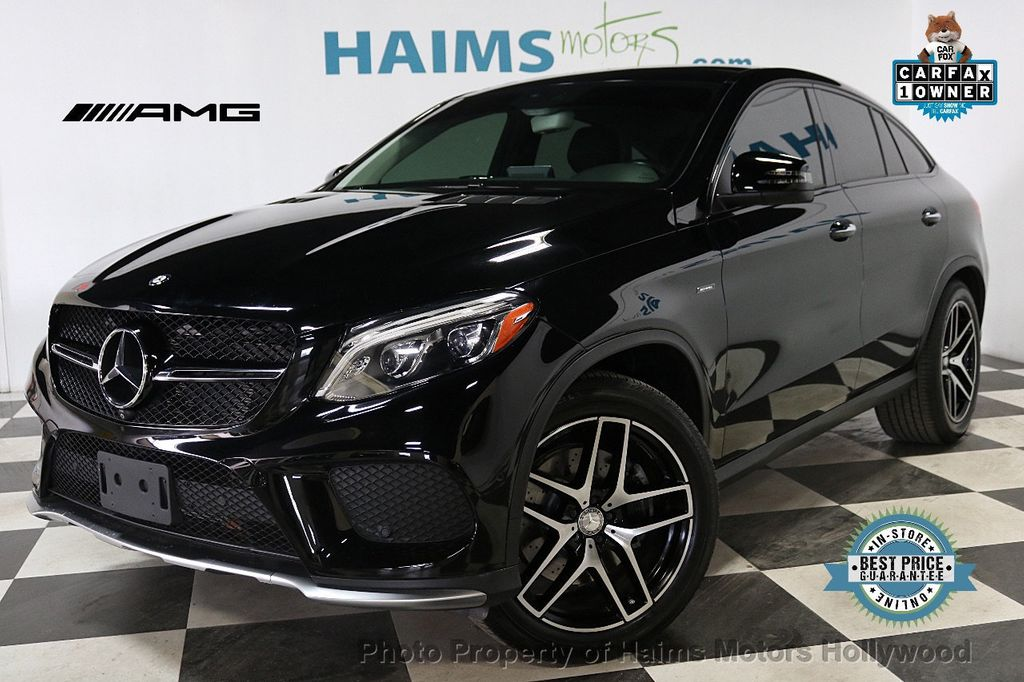 2016 Mercedes-Benz GLE 4MATIC 4dr GLE 450 AMG Coupe - 18365549 - 0