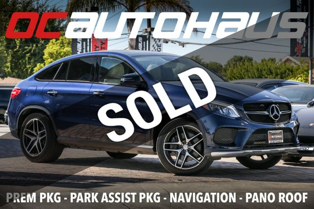 Mercedes Gle 450 Amg >> 2016 Used Mercedes Benz 4matic 4dr Gle 450 Amg Coupe At Oc Autohaus Serving Westminster Ca Iid 19383764
