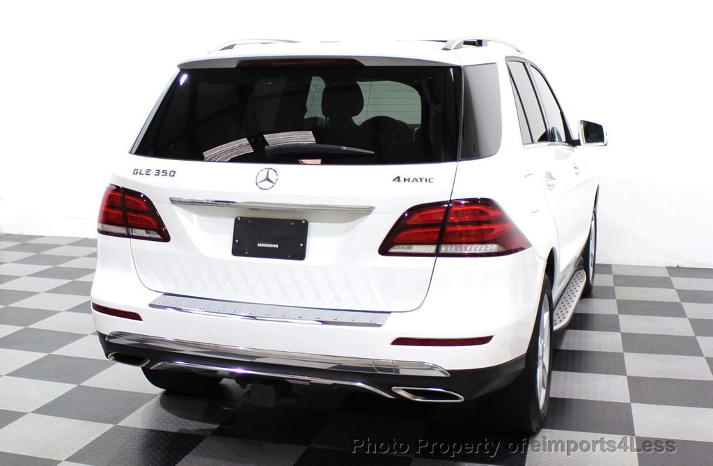2016 Mercedes-Benz GLE CERTIFIED GLE350 4Matic AWD Blind Spot HK NAV CAM - 18302577 - 33