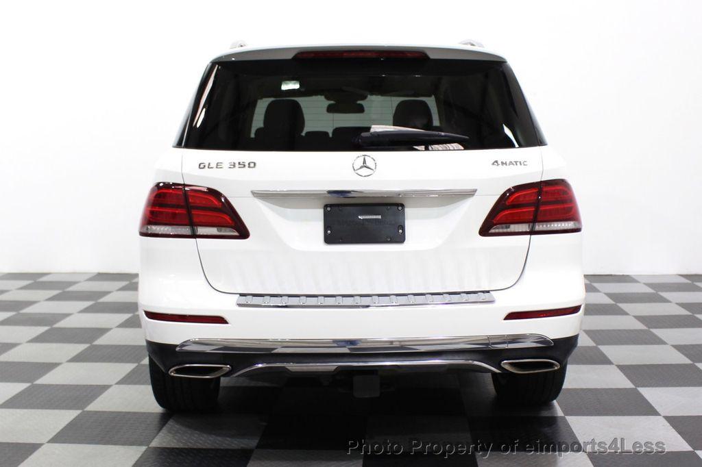 2016 Mercedes-Benz GLE CERTIFIED GLE350 4MATIC AWD BLIS NAV CAM PANO - 18315056 - 17