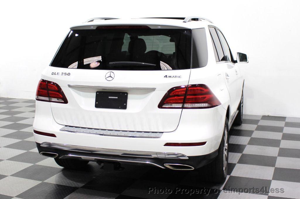 2016 Mercedes-Benz GLE CERTIFIED GLE350 4MATIC AWD BLIS NAV CAM PANO - 18315056 - 33