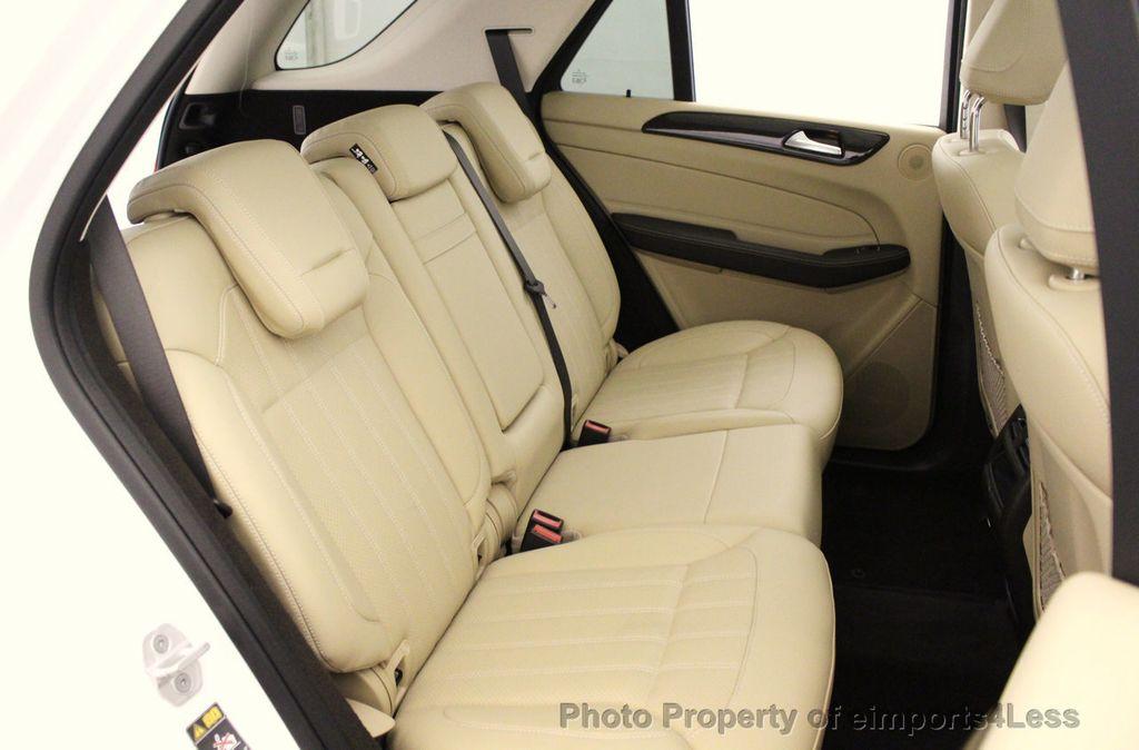 2016 Mercedes-Benz GLE CERTIFIED GLE350 4MATIC AWD BLIS NAV CAM PANO - 18315056 - 38