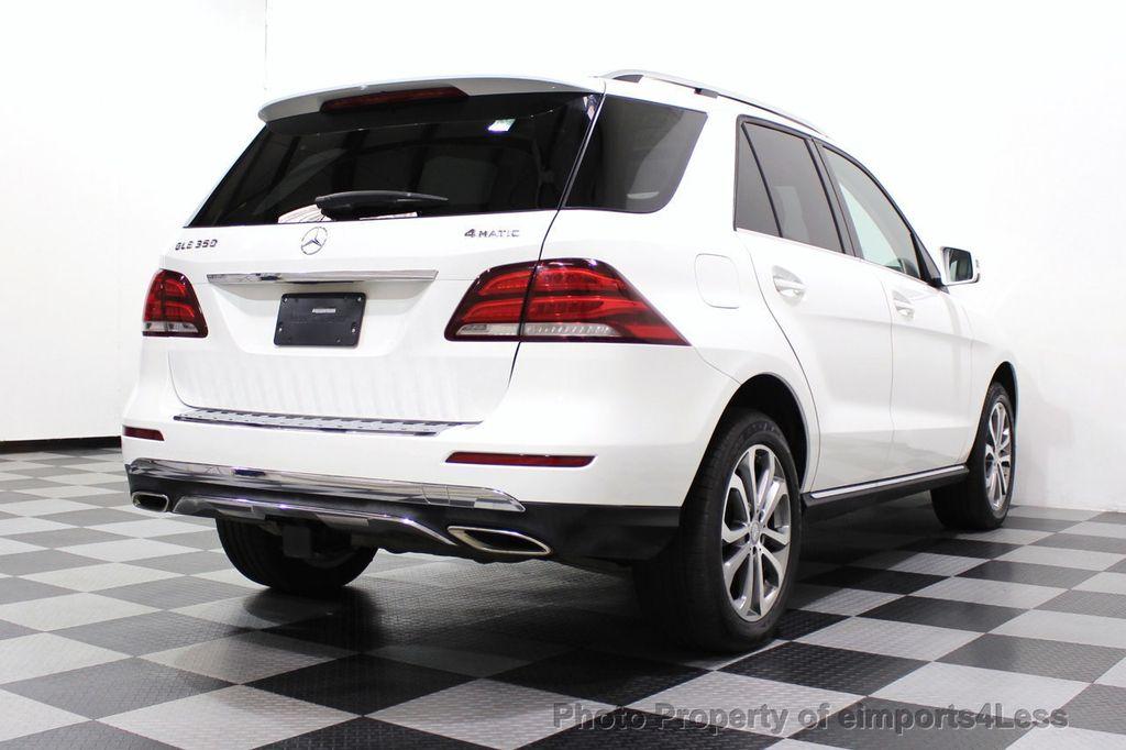 2016 Mercedes-Benz GLE CERTIFIED GLE350 4MATIC AWD BLIS NAV CAM PANO - 18315056 - 3