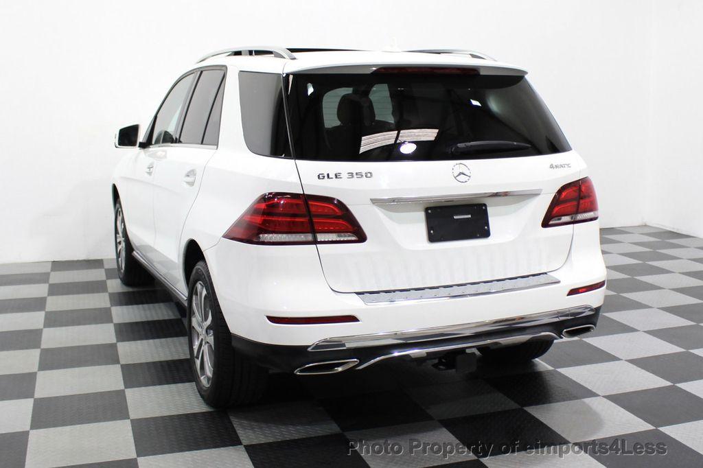 2016 Mercedes-Benz GLE CERTIFIED GLE350 4MATIC AWD BLIS NAV CAM PANO - 18315056 - 48