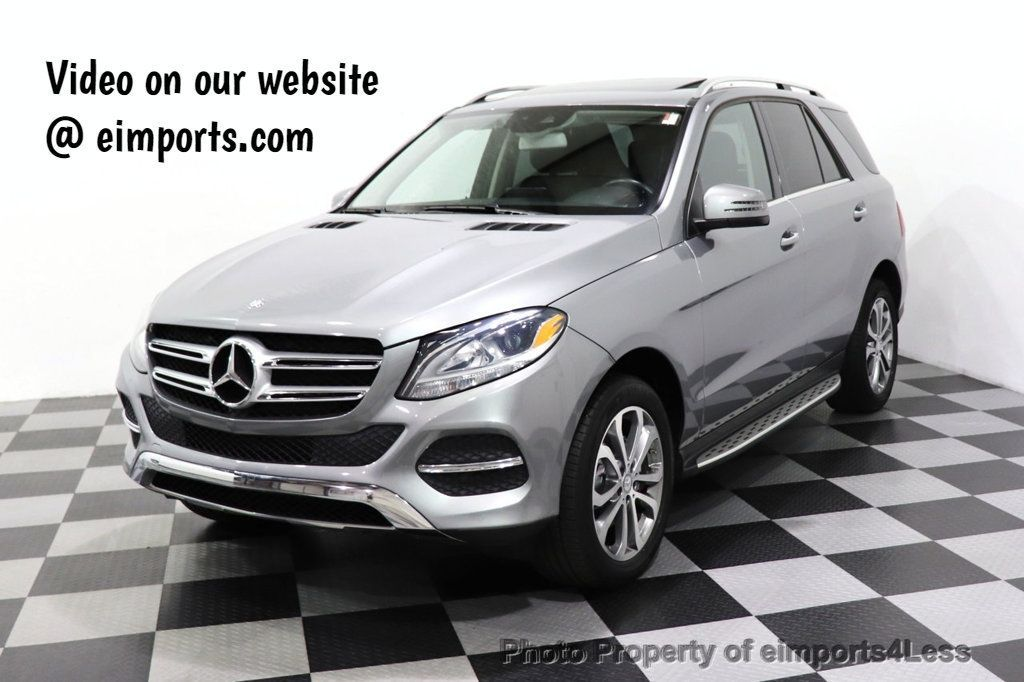 2016 Mercedes-Benz GLE CERTIFIED GLE350 4MATIC AWD HK AUDIO NAV CAM BLIS - 18373068 - 0