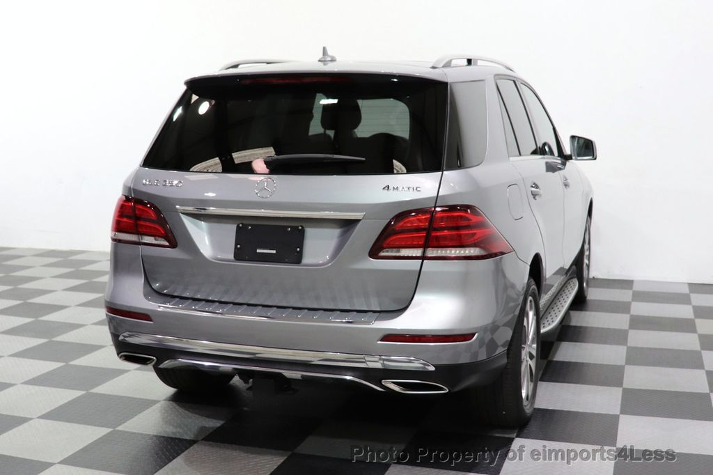 2016 Mercedes-Benz GLE CERTIFIED GLE350 4MATIC AWD HK NAV PANO CAM BLIS - 18448597 - 11