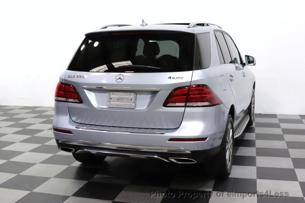 2016 Mercedes-Benz GLE CERTIFIED GLE350 4MATIC AWD HK PANO CAMERA NAVI - 18499013 - 35