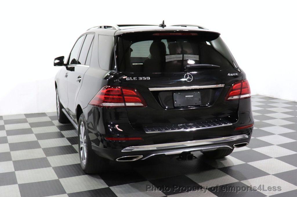 2016 Mercedes-Benz GLE CERTIFIED GLE350 4MATIC PREMIUM BLIS NAV CAM PANO - 18545383 - 38