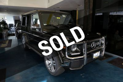 2016 Mercedes-Benz 4MATIC 4dr AMG G 63 SUV