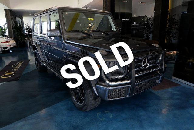 2016 Used Mercedes-Benz G-Class 4MATIC 4dr G 550 at OC
