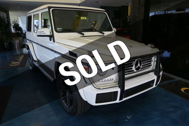 2016 Mercedes-Benz G-Class 4MATIC 4dr G 550 - Click to see full-size photo viewer