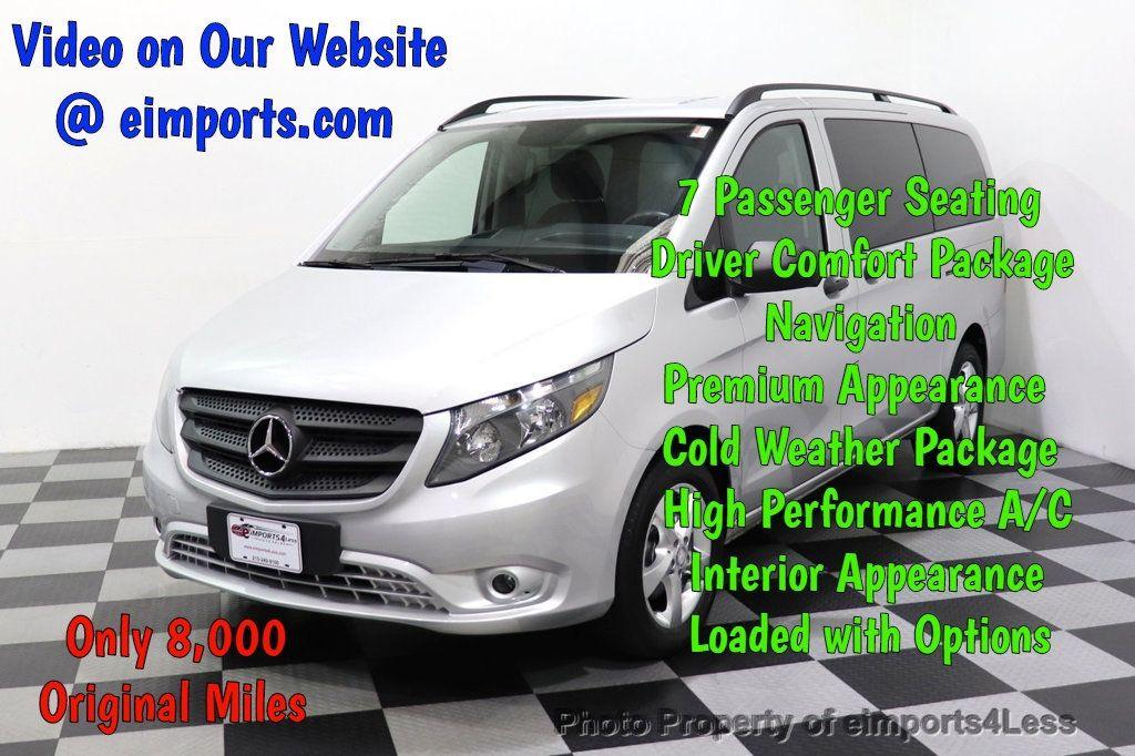 2016 Mercedes-Benz Metris Passenger Van CERTIFIED METRIS 7 PASSENGER NAVIGATION CAM BLUETOOTH - 18423154 - 0