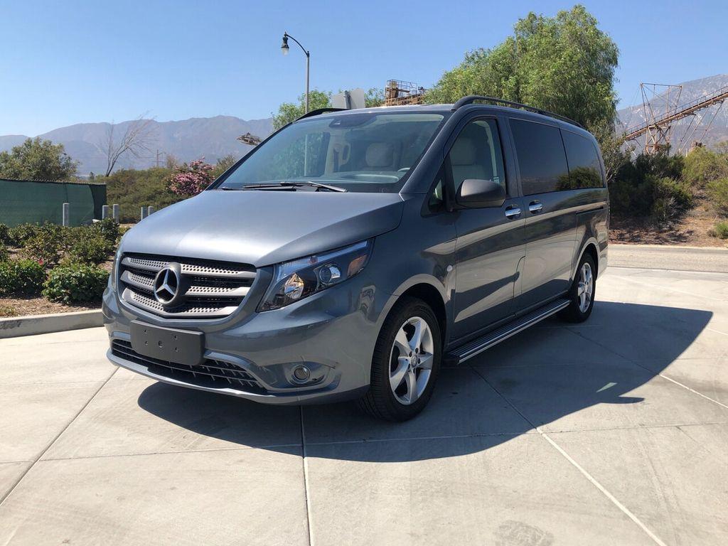 2016 Used Mercedes Benz Metris Passenger Van Custom Metris Van At Cnc Motors Inc Serving Upland Ca Iid 19254496
