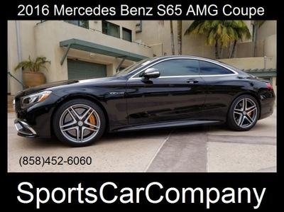 2016 Mercedes-Benz S65 AMG COUPE
