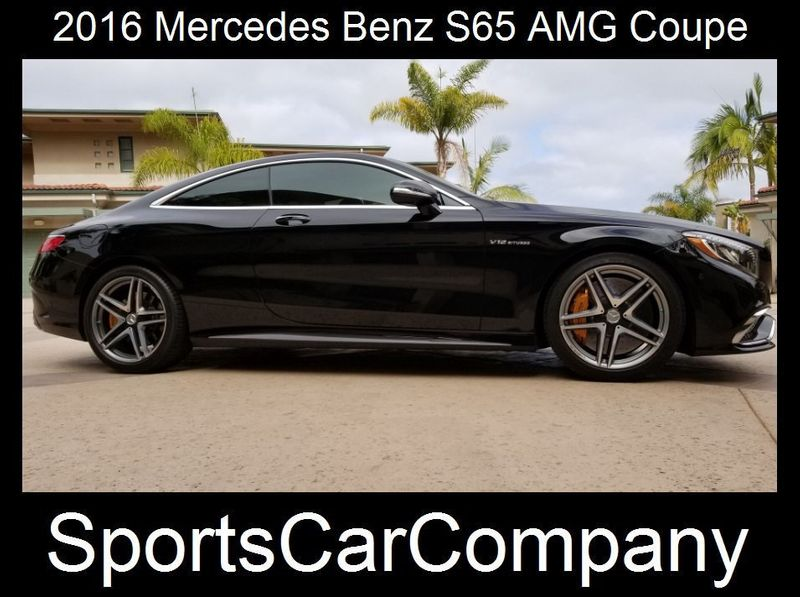 2016 Mercedes-Benz S65 AMG COUPE  - 17774504 - 1
