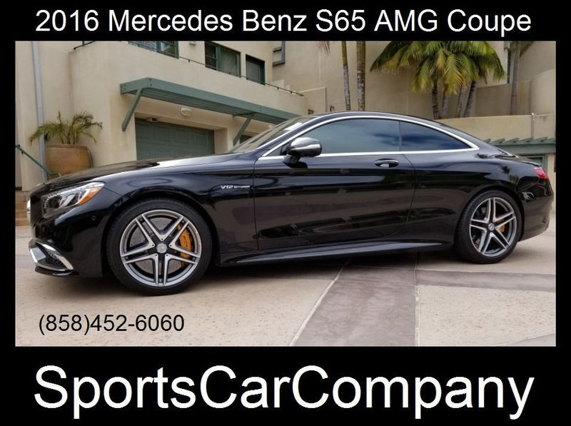 2016 Mercedes-Benz S65 AMG COUPE S65 AMG COUPE - 17774504 - 0