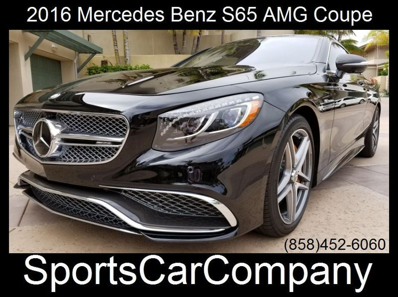 2016 Mercedes-Benz S65 AMG COUPE S65 AMG COUPE - 17774504 - 2