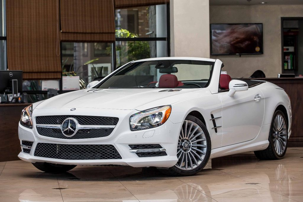 2016 Mercedes Benz Sl 2dr Roadster 550 18267219 2
