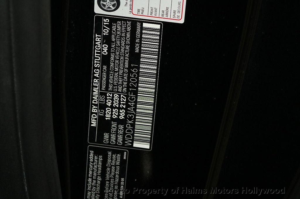 2016 Mercedes-Benz SLK 2dr Roadster SLK 300 - 18156042 - 31