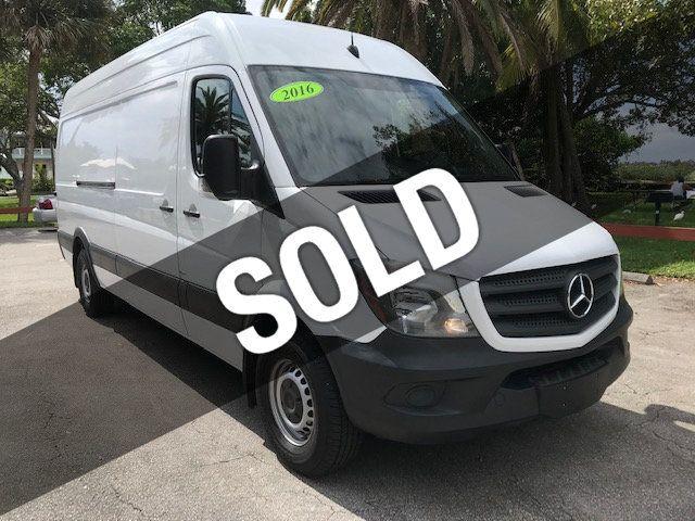 Used Mercedes Sprinter Van >> 2016 Used Mercedes Benz Sprinter Cargo Vans Rwd 2500
