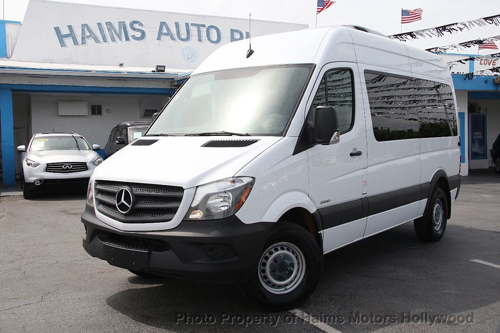 2016 used mercedes benz sprinter passenger vans rwd 2500 for Mercedes benz sprinter passenger
