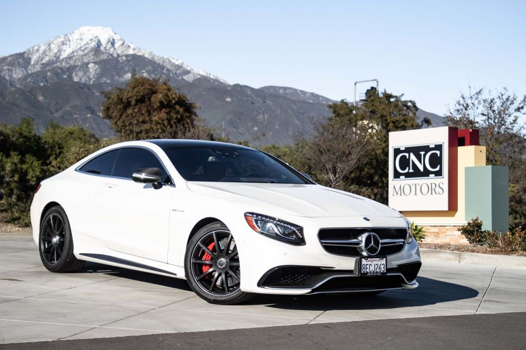 2016 Used Mercedes-Benz 2dr Coupe AMG S 63 4MATIC at CNC ...