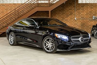 2019 Used Mercedes-Benz AMG S 63 4MATIC Coupe at GT Auto Mall
