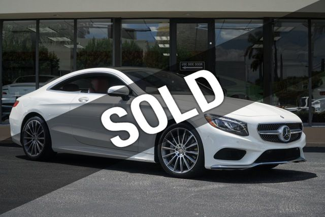 2016 Mercedes Benz S Cl 2dr Coupe 550 4matic