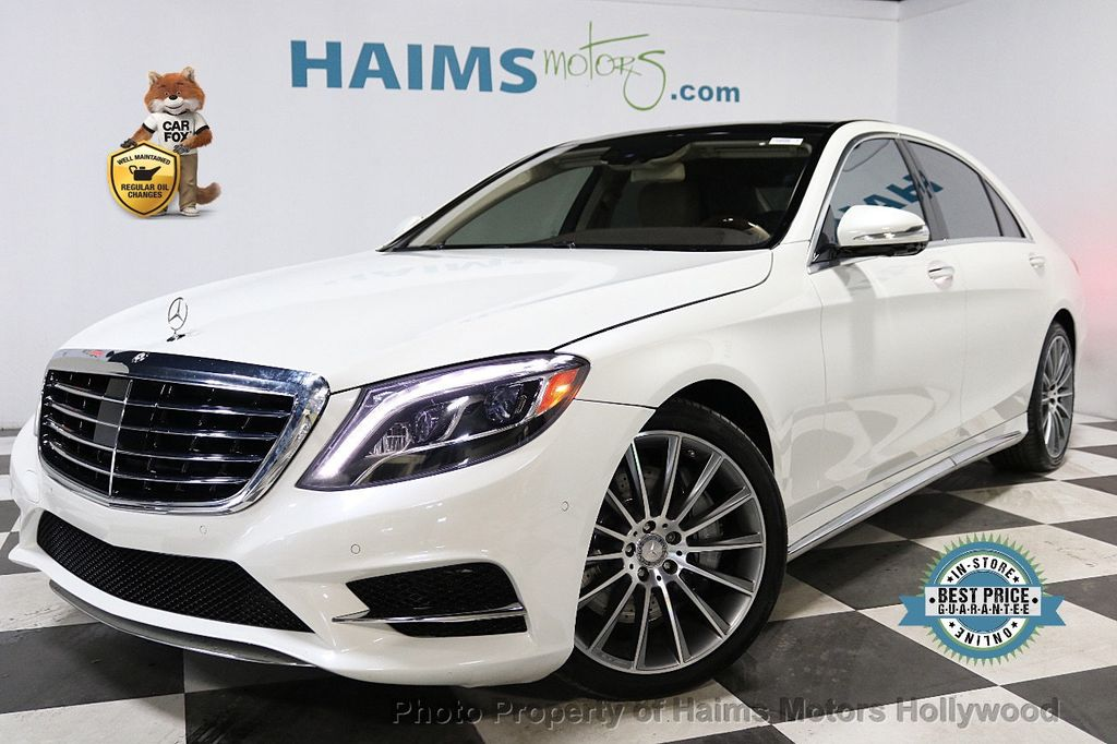 2016 Mercedes-Benz S-Class 4dr Sedan S 550 RWD - 18308049 - 0