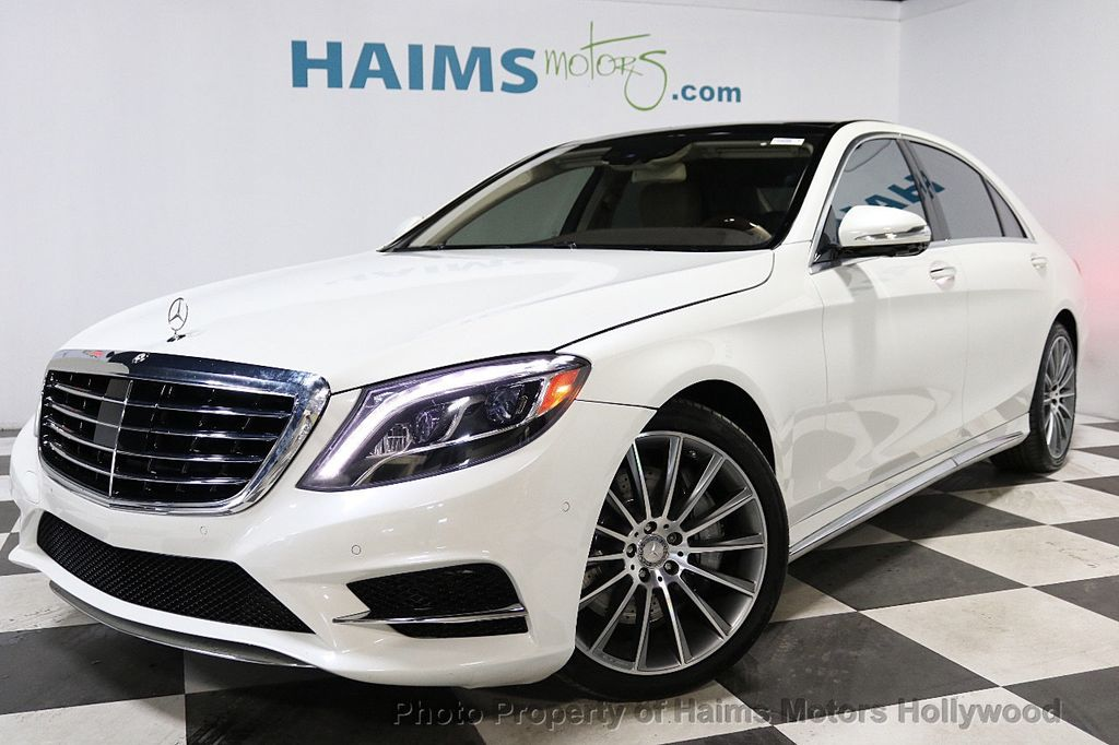 2016 Mercedes-Benz S-Class 4dr Sedan S 550 RWD - 18308049 - 1