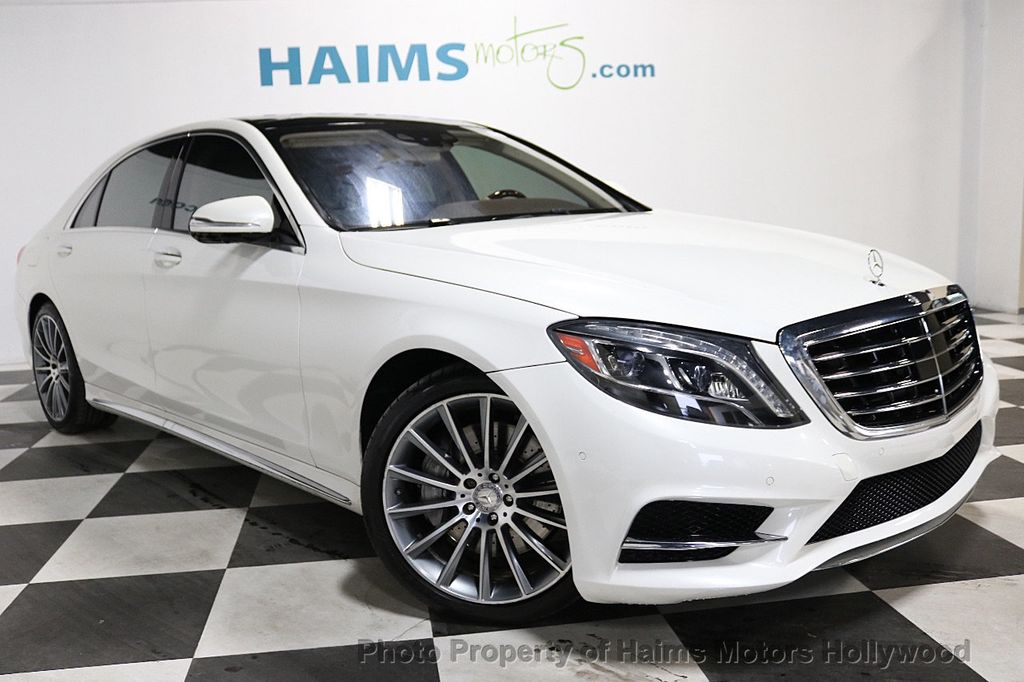 2016 Mercedes-Benz S-Class 4dr Sedan S 550 RWD - 18308049 - 3