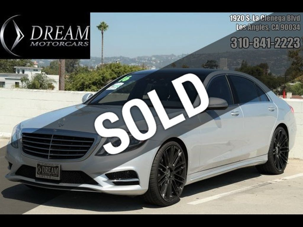 2016 Mercedes-Benz S-Class 4dr Sedan S 550 RWD - 18086290 - 0