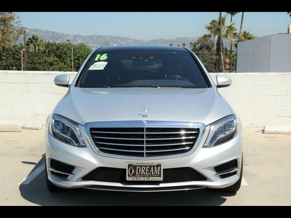 2016 Mercedes-Benz S-Class 4dr Sedan S 550 RWD - 18086290 - 1