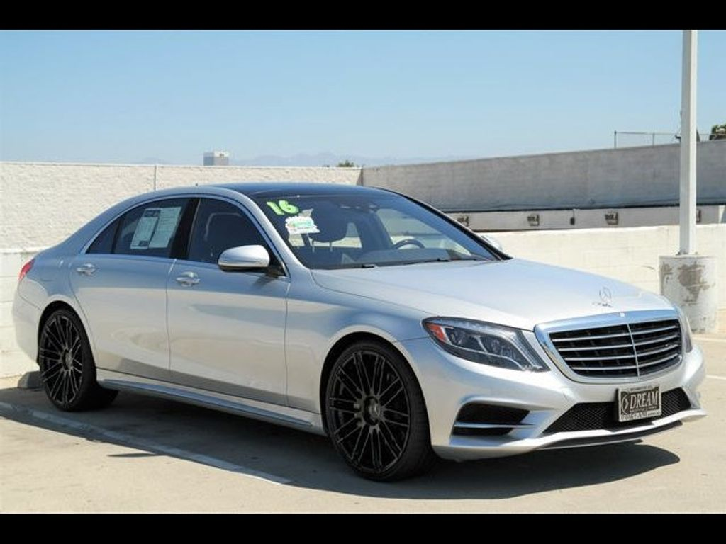 2016 Mercedes-Benz S-Class 4dr Sedan S 550 RWD - 18086290 - 2