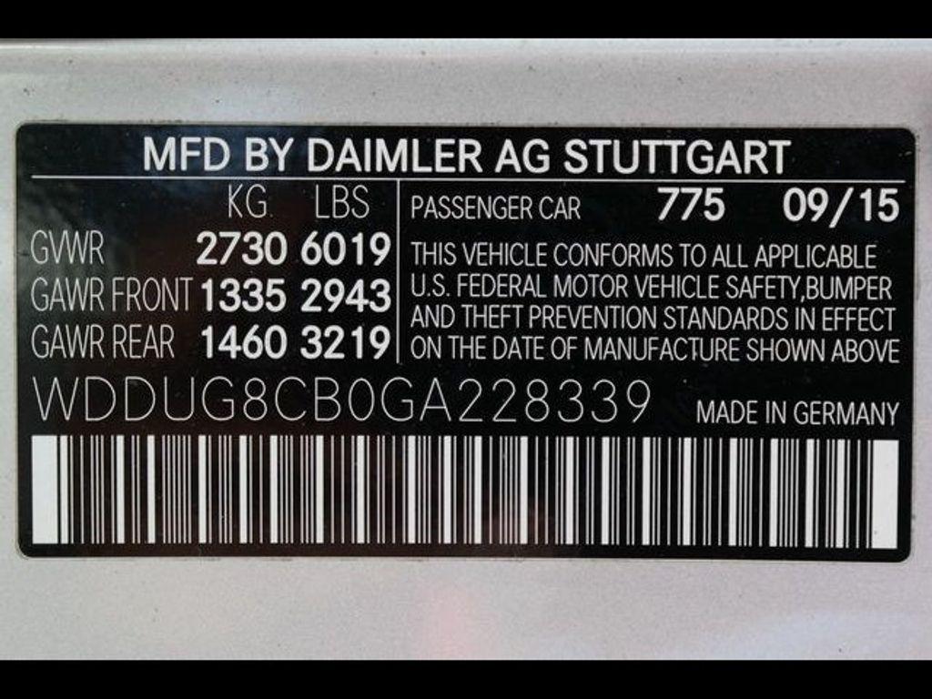 2016 Mercedes-Benz S-Class 4dr Sedan S 550 RWD - 18086290 - 39