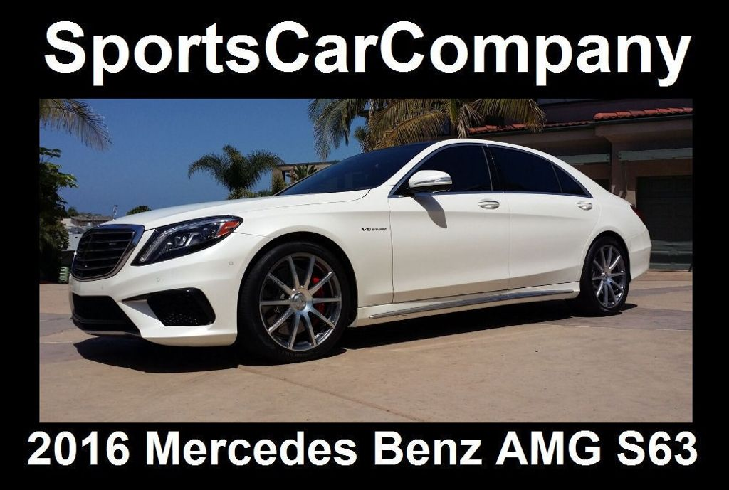 2016 Mercedes-Benz S-Class AMG S63 SEDAN  - 16388139 - 10